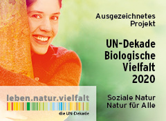 Logo UN-Dekade Biologische Vielfalt 2020