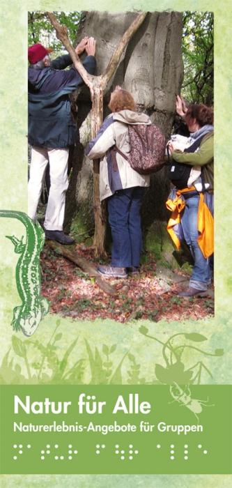 Broschüre Natur für alle